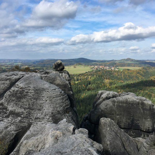 Ausblick vom Gipfel des Falkenstein