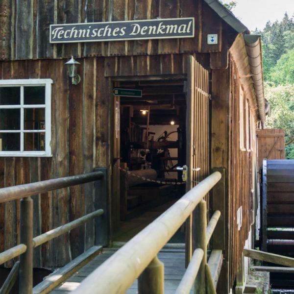 Technisches Denkmal Neumannmühle im Kirnitzschtal