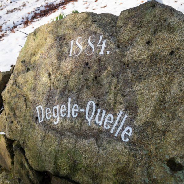 Degele-Quelle im Stechgrund, Dresdner Heide